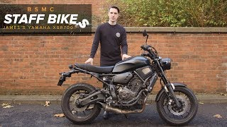 10. Staff Bikes: James' Yamaha XSR700