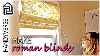 Video How to Make a Roman Blind : Handy Makes #01 MP3, 3GP, MP4, WEBM, AVI, FLV September 2019