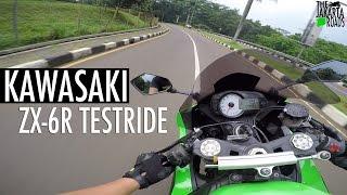 7. 2012 Kawasaki ZX-6R Testride! (bukan review)