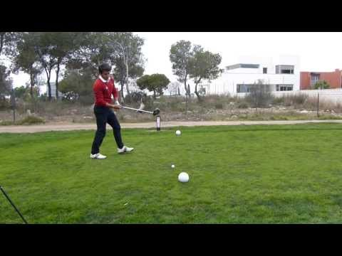 Alejandro Canizares LLorca. From the tee of the 11th hole.