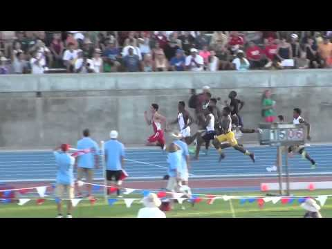 CIF State Track And Field Boys 100 Meter Final