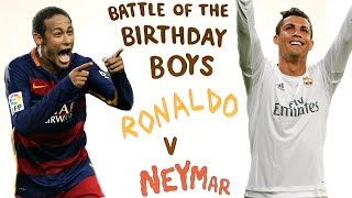 Neymar V Cristiano Ronaldo Face Off | Battle Of The Birthday Boys Timelapse, neymar, neymar Barcelona,  Barcelona, chung ket cup c1, Barcelona juventus