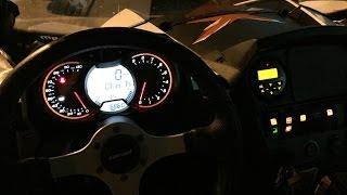 6. 2015 Can-am Maverick 1000 XXC ride  snow|night