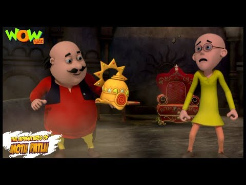 Mandir Ka Khanzana - Motu Patlu In Hindi WITH ENGLISH, SPANISH & FRENCH SUBTITLES