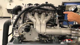 9. Yamaha 1.8L Super High Output Engine Review 2013- By BoatTest.com
