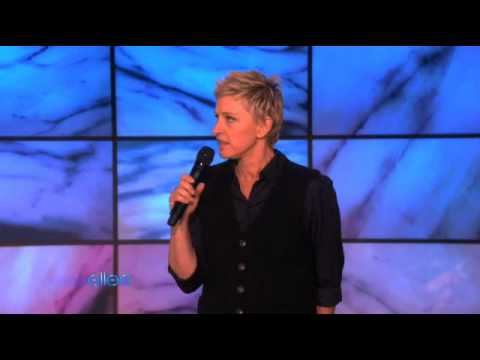 Ellen Comments About Oprah's announcement of ending her show in 2011