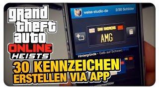 Download Lagu GTA Online - Kennzeichen erstellen (after Heist Update) | WeissStudio Mp3