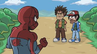 Spiderman in the Kawaii World