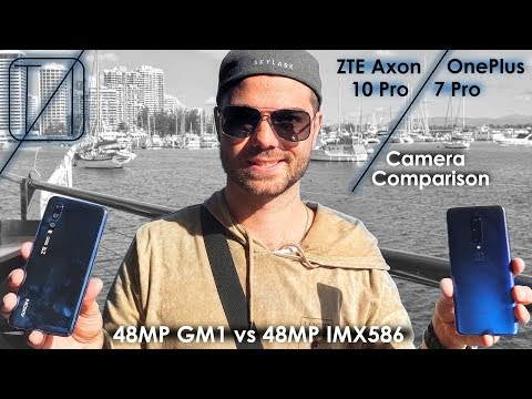 ZTE Axon 10 Pro vs OnePlus 7 Pro Camera Comparison - 48MP IMX586 vs GM1