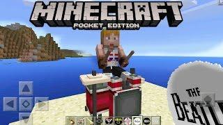 "Minecraft PE ""ROCK STAR BAND MOD"" 0.15.7 - EPIC MCPE BAND MOD - Minecraft PE (Pocket Edition)"