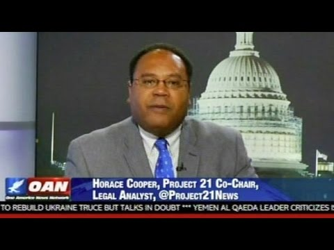 """Video: Project 21 co-chairman Horace Cooper """"This Blame It on the Whitey Stuff Is Dangerous and It Is a Lie."""""""