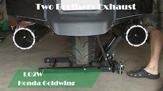 7. Top 8 Ful Exhaust Sound Honda Goldwing GL1800 / Two Brothers, Cobra, Monster, Daytona, Rush mufflers