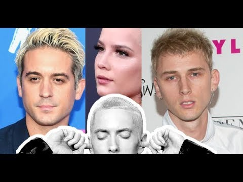 Halsey REACTS to MGK OVERLY CONFIDENT on Breakfast Club, G Eazy Did Pass Him In Numbers FACTS!