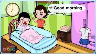 สื่อการเรียนการสอน Good morning ป.2 ภาษาอังกฤษ