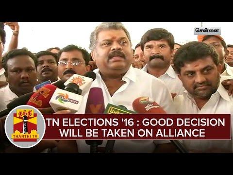 TN-Elections-2016--Good-Decision-Will-Be-Taken-On-Alliance--G-K-Vasan
