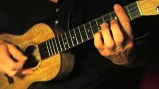 Fingerpicking Blues Ukulele - I Get The  Blues When It Rains
