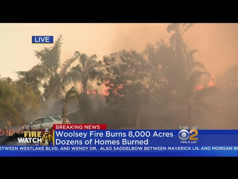 Woolsey Fire Rips Through Thousand Oaks Neighborhoods