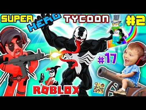 WHO Kencing DI Deadpool? ROBLOX Superhero Tycoon Sihir, Bunuh Quests & Boss Memunculkan FGTEEV # 17