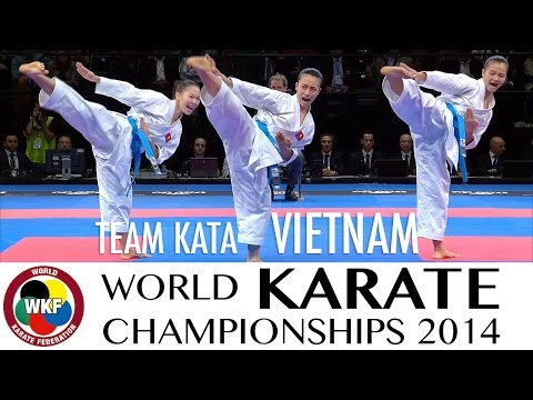 VĐTG 2014: Kata Team Vietnam
