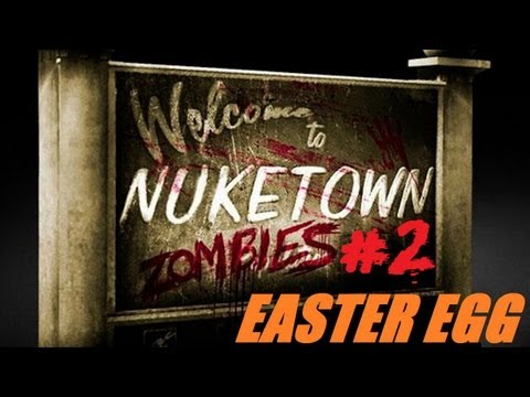 Nuketown Easter Egg/Breakdown Step 2: Mushroom Cloud & The Aztec God of Death [Black Ops 2 Zombies]