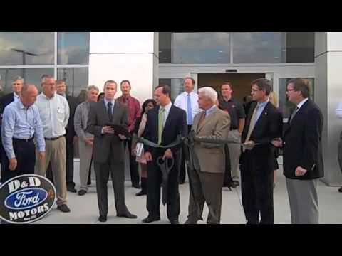 D&D Ford Motors Ribbon Cutting