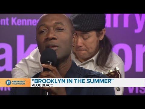"Aloe Blacc Performs ""Brooklyn In The Summer"" On BT Montreal"