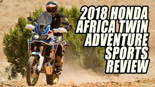 10. 2018 Honda Africa Twin Adventure Sports First Ride Review