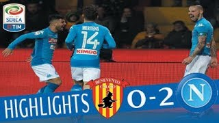 Video Benevento - Napoli 0-2 - Highlights - Giornata 23 - Serie A TIM 2017/18 MP3, 3GP, MP4, WEBM, AVI, FLV Februari 2018