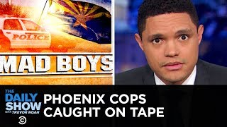 Video Phoenix Cops' Extreme Response to Shoplifting Caught on Tape | The Daily Show MP3, 3GP, MP4, WEBM, AVI, FLV Juni 2019