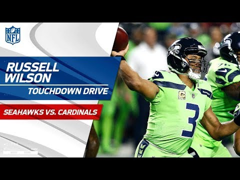 Video: Russell Wilson's TD Pass to Jimmy Graham Caps Off Big TD Drive! | Seahawks vs. Cardinals | NFL Wk 10