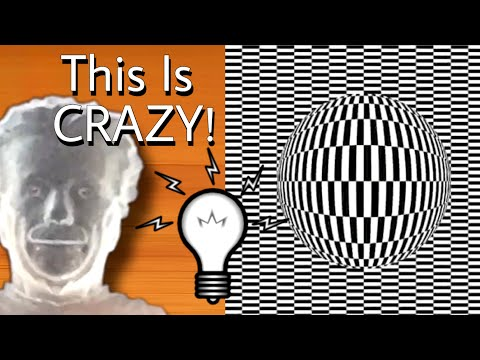24 AMAZING OPTICAL ILLUSIONS That Will Trick Your Eyes!