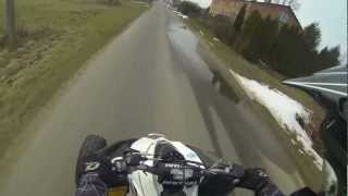 2. Kawasaki KFX 450R full speed wheelie
