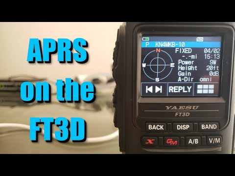 Setup APRS on the FT3DR or FT2DR - The Ultimate guide