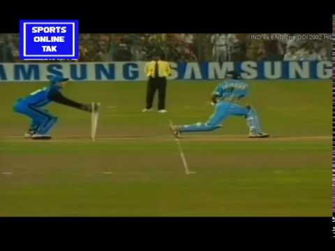 #INDIAVSENGLAND INDIA beat ENGLAND in a thriller | IND vs ENG 2ND ODI 2002 HIGHLIGHTS