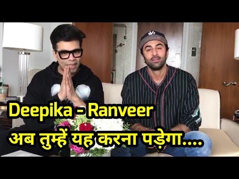 Ranbir Kapoor and Karan Johar Take Up SUI DHAAGA C