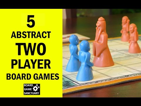 5 Fun Two Player Abstract Board Games for New Gamers