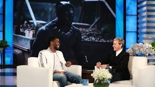 Video 'Black Panther' Star Chadwick Boseman on Feeling Like the Mayor MP3, 3GP, MP4, WEBM, AVI, FLV Maret 2018