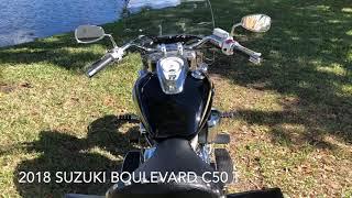 10. 2018 SUZUKI BOULEVARD C50 T