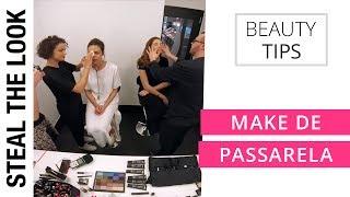 MAKE DE PASSARELA - Rodarte e Noon By Noor NYFW 2016 | Steal the Look Beauty Tips