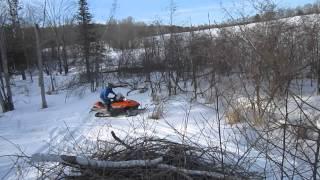 5. Arctic cat Z 570 drift banging