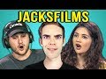 COLLEGE KIDS REACT TO JACKSFILMS
