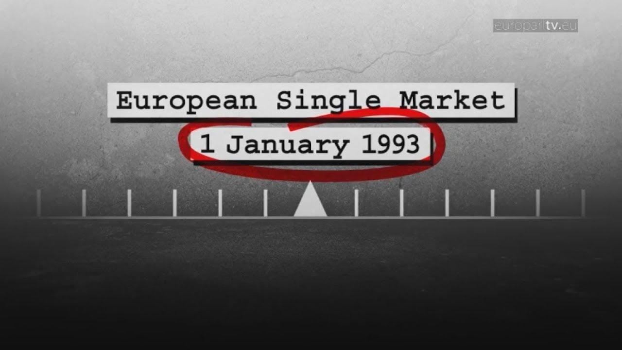 Αναδρομή στην ιστορία της Ενιαίας Αγοράς