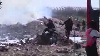 Mogadishu Airport: ETHIOPIAN AIR FORCE PLANE CRASH