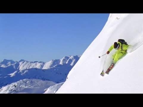 SKI - Check out more snow shredding here http://win.gs/MqRAii Watch the Full Episode: http://goo.gl/L0R6N Professional freeskiers Eric Hjorleifson, James Heim, and...