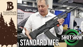Standard Manufacturing (creators of the DP-12) introduced 3 new shotguns to market; The SKO, the SKO Bullpup, and the SP-12 12 gauge shotguns.Learn more at www.stdgun.comOfficial website, blog, and online store.www.inner-bark.comJoin me on social media to be up to date on the latest projects, news, and giveaways.Facebook- www.facebook.com/innerbarkTwitter- www.twitter.com/innerbarkPintrest- www.pintrest.com/innerbarkInstagram- www.Instagram.com/innerbark