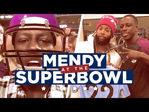 Video: MENDY IN THE USA! | Super Bowl LII Vlog