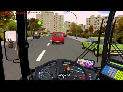 Bus - OMSI The Bus Simulator - 92E U Rathaus Spandau to Reimweg Autumn HD Driving from U Rathaus Spandau to Reimweg with advanced ticket selling enabled. http://ww...