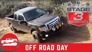 Stage3Motorsports.com F150 project trucks off roading in Prescott, AZ