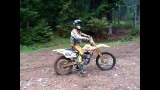 3. Suzuki RMZ 450 Hard Enduro , mud