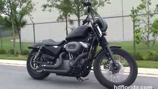 5. Used 2009 Harley Davidson Nightster Sportster Motorcycles for sale -Dunnellon, FL
